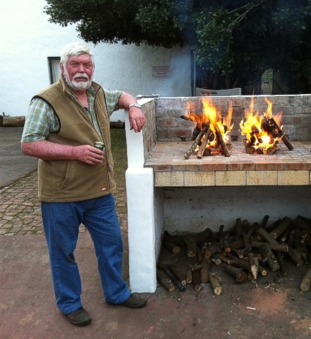 The braaimaster John Magner