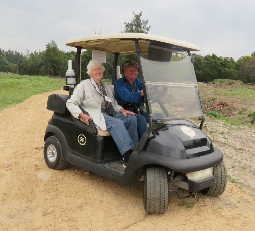 Pearl Valley Golf Estate - Jo Hobbs and John Fincham. Photograph by Priscilla Beeton