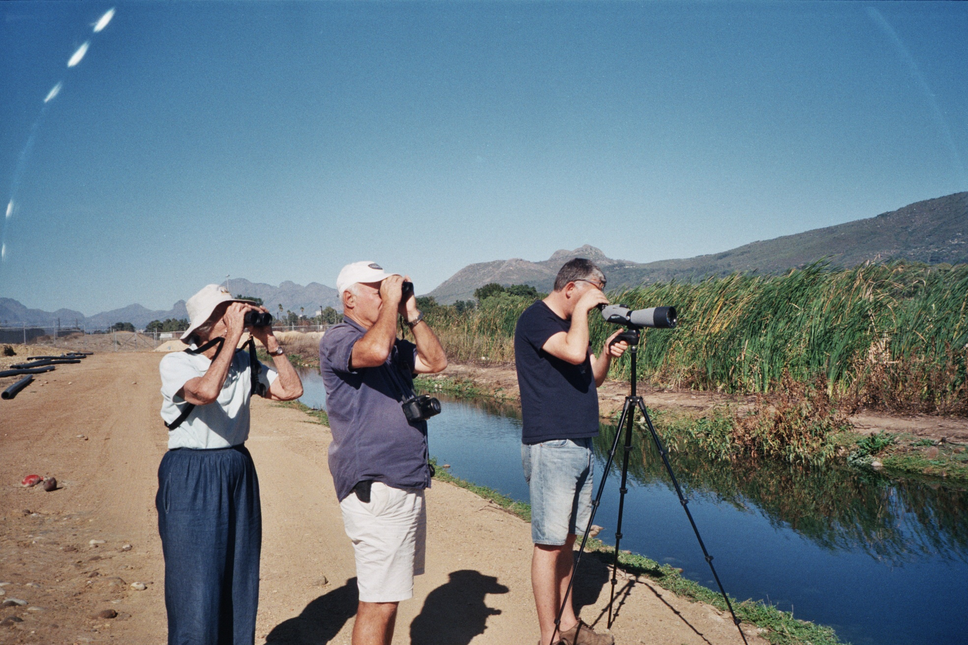 Paarl Bird Sanctuary outing. Photograph by Penny Dichmont