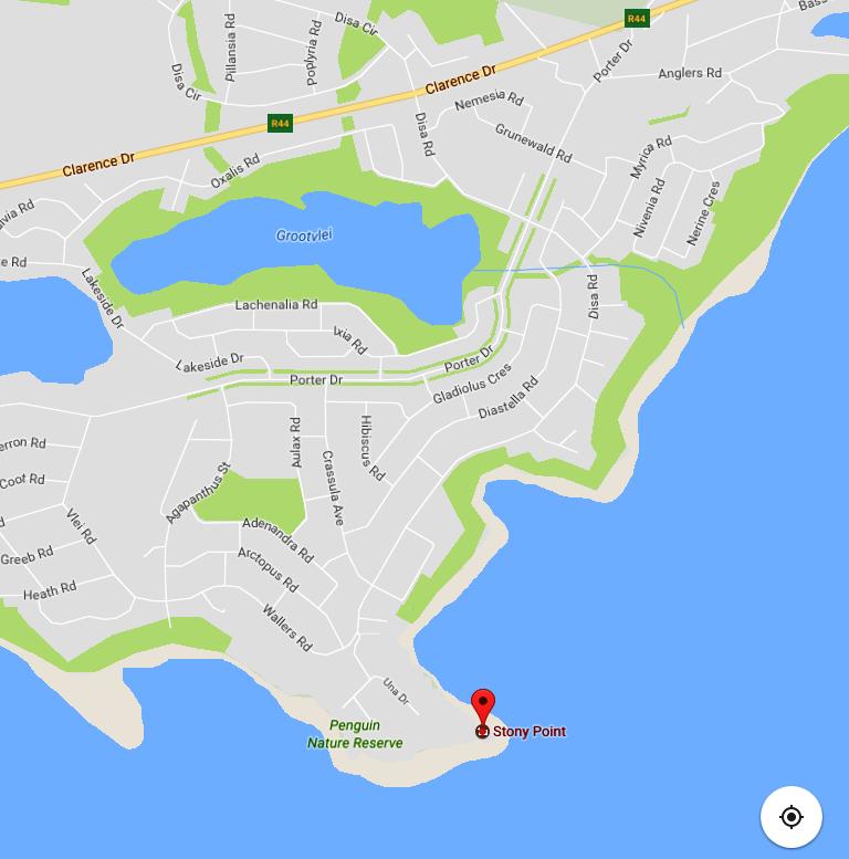 Stony Point Google map