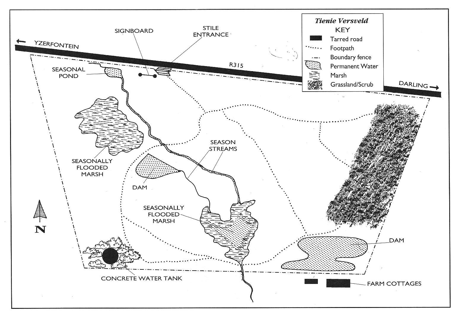 Tienie Versveld site map