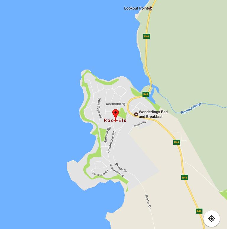 Rooi Els Google map