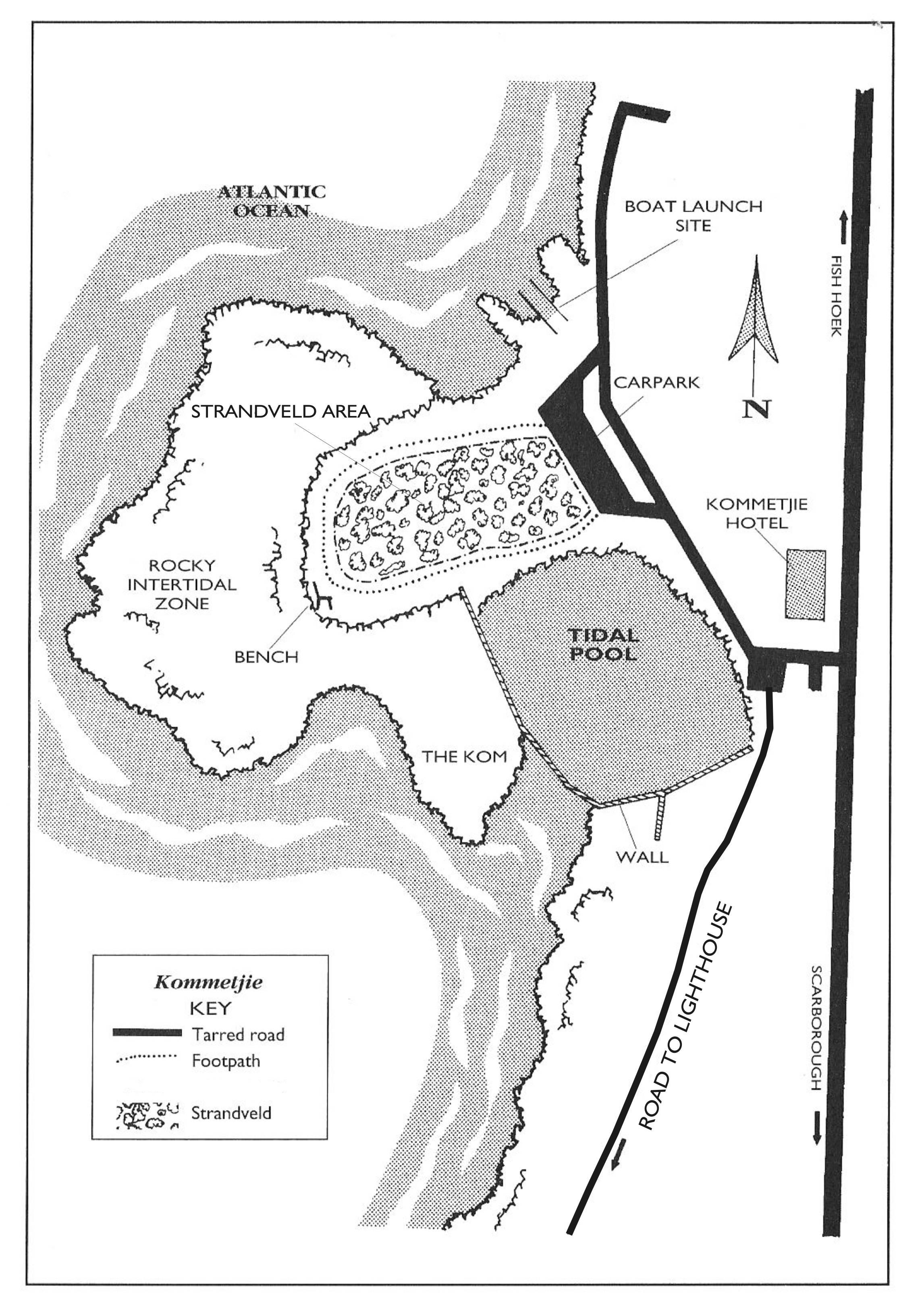 Kommetjie Site Map