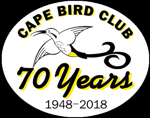 Cape Bird Club 70 years logo