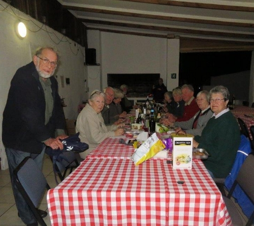 Indoors for supper uilenvlei camp 2015