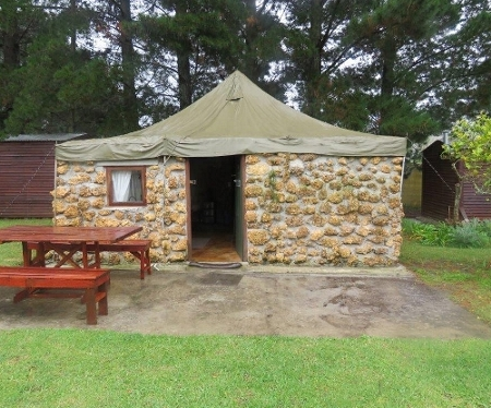 Wet and cold outside, Uilenvlei Camp