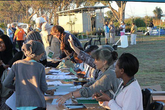 Birdathon Registration Tables
