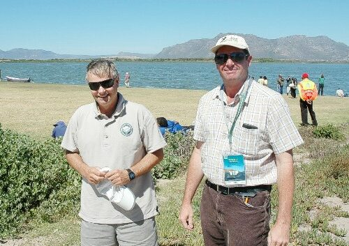 Ian Cranna City of Cape Town Environmental Resource Management and Doug Harebottle Scientific Avian Researcher were there too feb 2015 gavin lawson