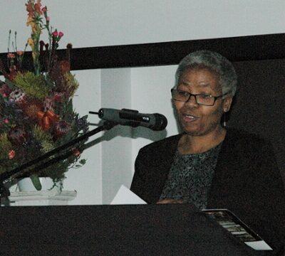 Ms Morongoe Ramphele Deputy Director General Domestic Tourism giving her speech sept 2015 gavin lawson