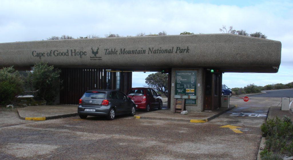 Entrance to the park - Mel Tripp