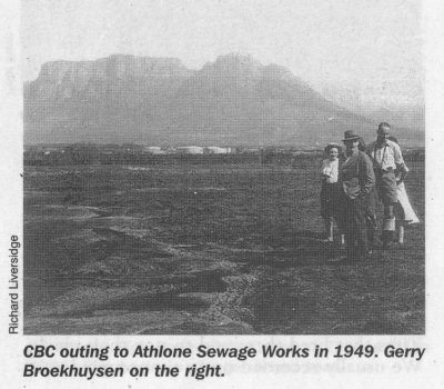 cbc outing to athlone sewrage works in 1947