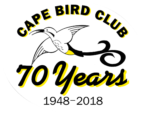 Cape Bird Club 70 years logo