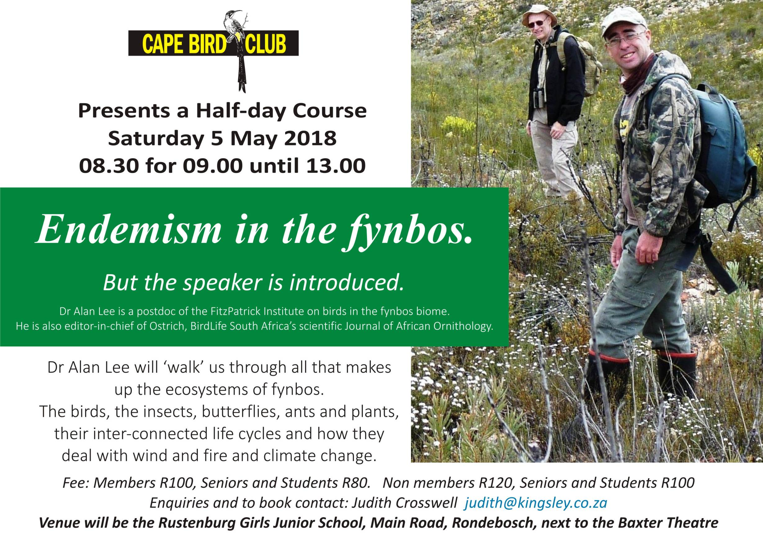 CBC Fynbos Course 2018