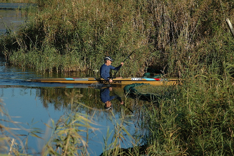 zandvlei westlake wetlands 03 canoeist in the westlake river 21 april 2018