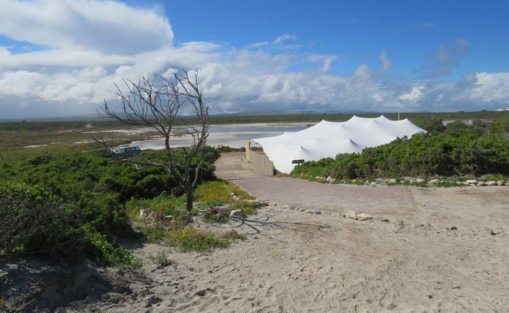 Rooi Pan from dunes behind Standkombuis restaurant - Karin Wilson