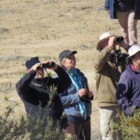 Dennis, Simon, Marilyn & Gillian. Tankwa Karoo. Photograph by Duke Metcalf