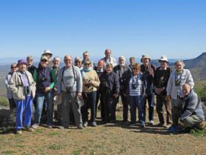 The group on Gannaga Pass. Tankwa Karoo. Photograph by Janet Hallett